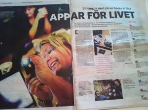Geek Girl in Göteborgs Posten (local newspaper)
