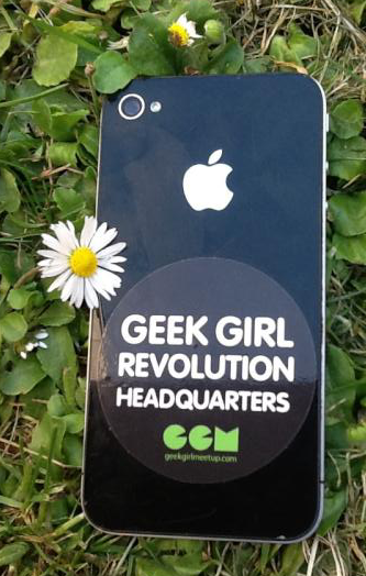 New badge for Geek Girl Meetup